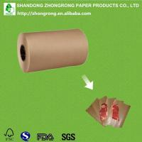 Wholesale PE coated brown kraft paper roll from china suppliers