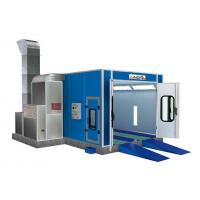 Quality Automobile, Vehicle, Furniture Painting Down Draft Spray Booth, Room With 3 - for sale