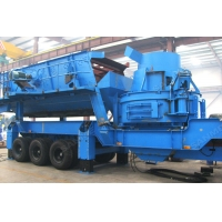 China Chinese Leading Portable Sand Making Machine , Factory Price and Good Quality on sale