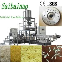 China Automatic NutritionalRiceExtrusionMachineArtificialRiceMaking Processing Line on sale