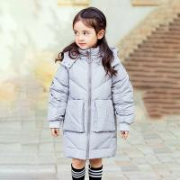New Fashion Design High Quality Warm Clothing White Duck Down Kids Girls Winter Down Jackets for sale