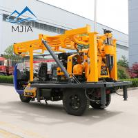 Wholesale Full Hydraulic Control Rotating Vehicle Mounted Water Well & Soil Survey Drilling Rig from china suppliers