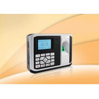 Buy cheap Check In / Out Biometric Access Control Devices 24 Hours Continuous Operation from wholesalers