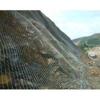 China Tecco Wire Mesh steep slope stabilization Active SNS Rockfall Mesh on sale