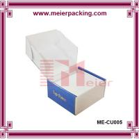 Wholesale factory price logo printing custom packaging box for shoe, dress, clothing ME-CU005 from china suppliers