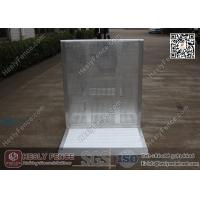 Wholesale 1.2m High Aluminium Stage Barrier   Al Concert Barrier   Mojo Stage Barrier from china suppliers