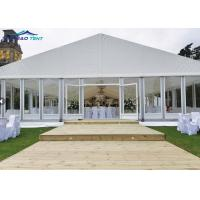China Anti - leakage 40 X 40 Aluminium Frame Event Marquee Tent / Outdoor Wedding Reception Tent on sale