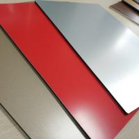 Wholesale ACP High Gloss Aluminium Composite Panel 2mm Drawing Process Exterior Wall from china suppliers