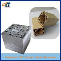 Wood Plastic PVC Pillar Post Extrusion Die Mould for sale