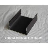 Wholesale Powder Coated Aluminium Profile For Curtain Wall Frame Champangn , Bronze from china suppliers