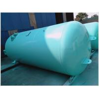 Wholesale Blue Vertical Air Receiver Tank Pressure Vessel , Low Pressure Air Compressor Holding Tank from china suppliers