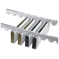 China U aluminum Profile Screen Ceiling , Professional Factory For Aluminum Linear Strip Ceiling for sale
