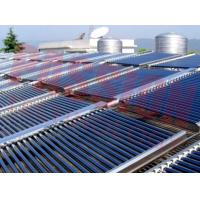 Wholesale 304 Stainless Steel Water Tank Vacuum Tube Solar Collector Centralized Solar Water Heating System from china suppliers