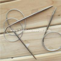 Wholesale New products  Circular stainless steel Knitting Needles china manufacturer from china suppliers