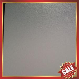 PC abrasive Sheet,matt polycarbonate sheet,frosted polycarbonate sheet,matt pc panel,frosted pc panel,nice decoration