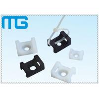 Wholesale white /balck Saddle Type tie mounts with material of PA66, CE approval ,1000PCS /BAG Cable Accessories from china suppliers