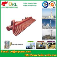Quality Low Loss Boiler Header Manifolds / Boiler Steam Header Non Pollution for sale
