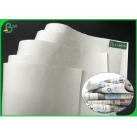 Wholesale Grade AA 869mm 889mm 50gsm 55gsm 60gsm White Printing Paper For Magazine from china suppliers