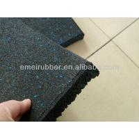 Wholesale Recycled rubber sports tile/ Gym mat/ gym floor tiles from china suppliers