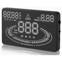 "Quality Ouchuangbo 5.5"" HUD Car Head Up Display LED Windscreen Projector OBD2 Scanner Speed Warning for sale"