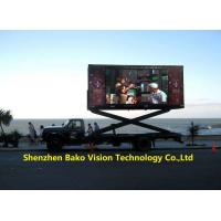 China IP65 Mobile Stable Led Advertising Billboard Display Tvs For Moving Car / Truck on sale
