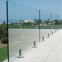 Wholesale Deck Railing for Villa / Modern Stainless Steel Glass Railing / Balcony Railing Outdoor Design from china suppliers