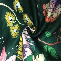 Wholesale 50dx150d Yarn Count Fashion Print Fabric False Twisting Satin Soft Hand Feeling from china suppliers