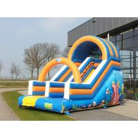 Wholesale Customized Ocean Commercial Inflatable Slide Fire Resistant Inflatable Bounce Slide from china suppliers