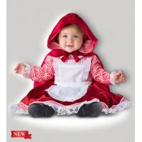China Red White Infant Baby Costumes Lil Red Riding Hood 6087 for Party on sale