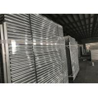 Wholesale Hot dipped Galvanized Temporary Fence Panels 2.1mx2.4m customized mesh 60mm*150mm from china suppliers