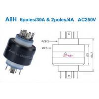 Wholesale rotating electrical connectors Mercury Slip Ring from china suppliers