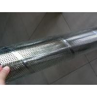 Wholesale Galvanized Steel Spiral Perforated Tube , Perforated Muffler Tubing ASTM GB DIN from china suppliers