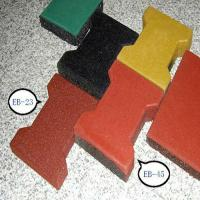 Buy cheap Eco-flex Recycled Z-Brick Pavers for Equine from wholesalers