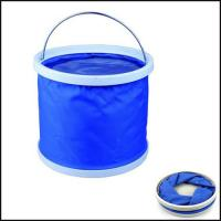 Wholesale Promotion Folding Water Bucket outdoor washing fishing gift from china suppliers