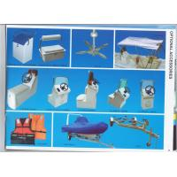 Wholesale Custom Fiberglass Console For Boat , UV Resistant Sunbrella Boat Covers from china suppliers