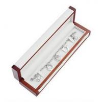 Wholesale Matte Painting Wooden Gift Boxes , Bracelet Woodworking Jewelry Box For Gifts from china suppliers