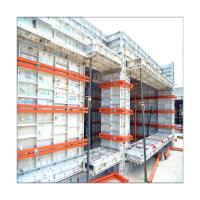 China Highly Efficient Aluminum Alloy Formwork System For Home Construction/Formwork Plastic Tie Rod/Green Formwork System on sale