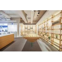 Wholesale Fashion design of Optical glasses shop interior display fxiture by Stainless steel racks with Acrylic shelves and counte from china suppliers
