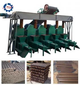 Wholesale 200-250kg/h wood charcoal briquette machine 50-80mm briquette making rice husk briquetting plant from china suppliers