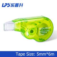 Wholesale Custom Plastic Green Colored Correction Tape Mini Size 6M For Cover Error from china suppliers