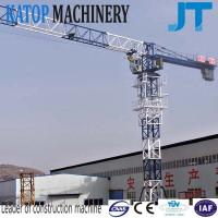 Wholesale Flat top tower crane TC5010 with 5t load from Katop factory from china suppliers
