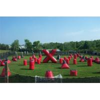 Wholesale 0.9mm PVC Outdoor Commercial Inflatable Sports Games Sup Airball Bunkers from china suppliers