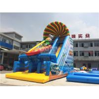Wholesale 0.55mm PVC Tarpaulin Commercial Inflatable Slide For Kids With Printing from china suppliers