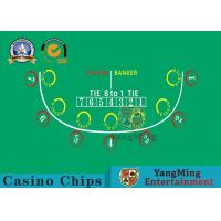 Wholesale Factory Design Customization 7-player Baccarat Table Layout from china suppliers