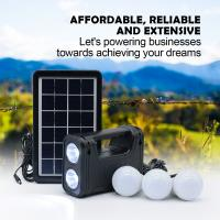 solar lighting system 9000mA lithium battery system hot sell cheap price Africa market  super bright led lights