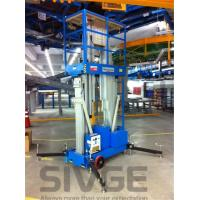 Quality Aluminum Alloy Hydraulic Lift Ladder 14 Meter Working Height For Window Cleaning for sale