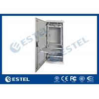 Wholesale Double Wall Aluminum AL5052 Outdoor Power Cabinet / Outdoor Telecom Cabinet With SNMP Monitoring from china suppliers