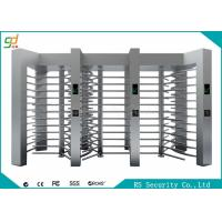 Wholesale Automatic RFID Full Height Turnstiles High Security With Barrier Gate from china suppliers