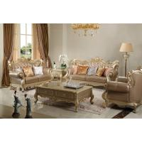 Wholesale Light grey Genuine leather Sofa Luxury meeting room Furniture European style Joyful Ever from china suppliers
