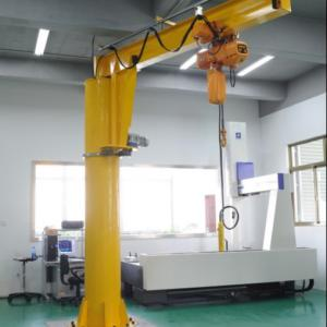 China Light Type 2T Freestanding Jib Cranes for Workshop on sale